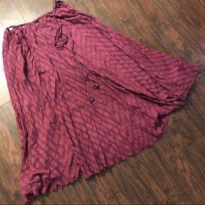 Free People maxi dress/skirt large